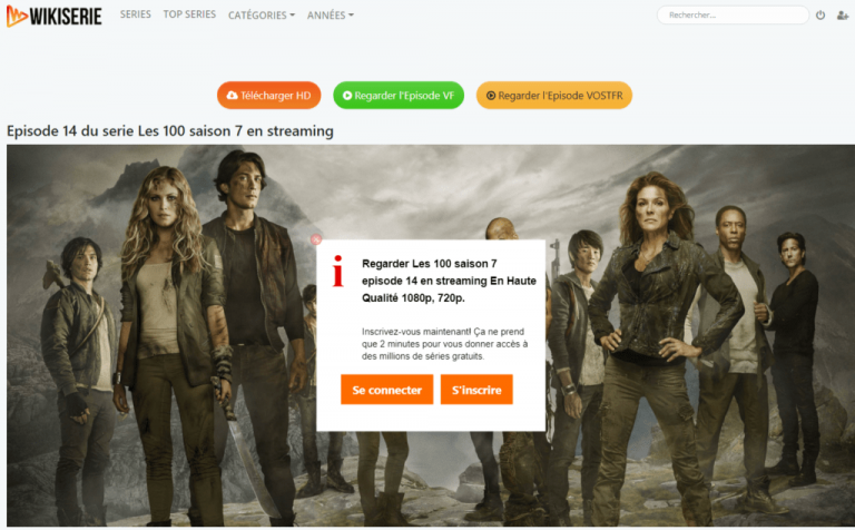 wikiserie steaming légal : nouvelle adresse 2021